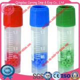 1.8ml Cryovial Gefäß-einfrierendes Gefäß gefrorenes Gefäß