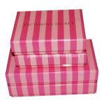 상한 뚜껑 기본 종이 포장 마분지 선물 상자를 각인하는 금박지