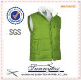 Sunnytex China heißeste Multi-Tasche Weste-Baumwollmens-Silber-Weste