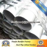 Tubo Caldo-Tuffato di galvanizzazione con la filettatura e gli zoccoli