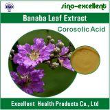 Estratto puro dei fogli dell'acido 1%~98% Banaba di Corosolic della natura di 100%