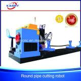 Линия вырезывания тип трубы CNC автомат для резки кровати ролика