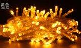 Шнур в 10 метров света 100 СИД солнечного приведенного в действие Fairy