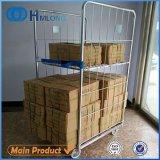 4 versah Walzen-Metallspeicher-Rahmen mit Rädern mit Seiten