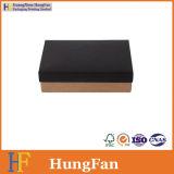 Напечатанная чернотой коробка упаковки картона бумаги Kraft