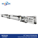 Máquina de papel automática da vitrificação Msgz-II-1200 e do Petróleo-Revestimento para o papel fino e grosso