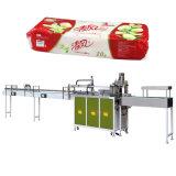 Papier de toilette empaquetant la machine de module de tissu de rouleau de papier hygiénique de 12 sacs