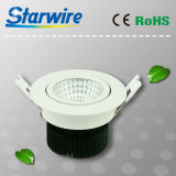 7With8W High Lumen 3 Years Warranty Dimmable COB DEL Downlights
