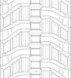 400X73X76 para trilhas da borracha Vio55-6