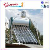 Mini compacto para no presión calentador de agua solar
