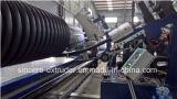 Riga a spirale ondulata macchina dell'espulsione del tubo dell'HDPE pp Krah