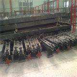 Redução do minério do manganês que concentra a tabela/que agita a máquina da tabela