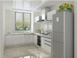 Disegno moderno acquistabile 2016 dell'armadio da cucina della lacca del MDF di Welbom