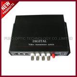 1 данный по цифров видео- оптически Transitter CH video+1 CH обратный и приемник