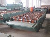 1050 type roulis de toit de couleur de feuillard formant la machine avec la qualité parfaite