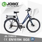 Bicicleta plegable eléctrica OEM modificado con aluminio llanta (JB-TDB27Z)
