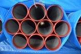 Tubulações de aço soldadas pintadas vermelho para a luta contra o incêndio