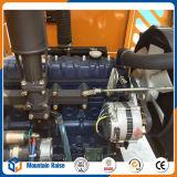 側面のダンプ装置Radlader 1トンのConstructtionのための小さい車輪のローダー