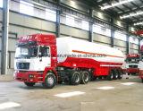 3 Eje de aluminio de 45m3 Fuel Tank Semi Remolque