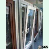 Finestra interna di inclinazione & di girata di profilo di alluminio ricoperta polvere, finestra di alluminio, finestra K04005