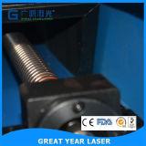 Le contre-plaqué à grande vitesse rotatoire/meurent la machine de découpage de laser de CO2 de panneau
