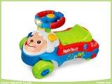 Pädagogisches Baby Walker Toys mit Reiten-auf Model und Push Forward Model