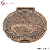 Дешевый изготовленный на заказ случай спортов резвится медаль для сувенира (LM1050)