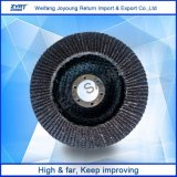 Disco del abrasivo de la rueda de la solapa del óxido de aluminio