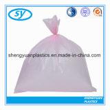 Sacs d'ordures en plastique réutilisés par fournisseur de PE d'usine