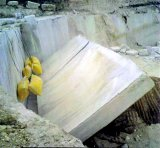 Sacs en pierre en acier remplis d'eau de poussée