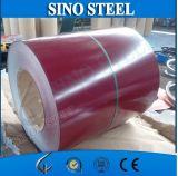 La couleur a enduit la bobine en acier galvanisée PPGI pour la toiture