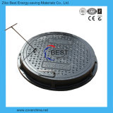 Крышка люка -лаза En124 C250 700mm круглая пластичная составная