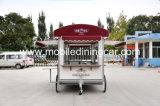 長い耐用年数の普及した移動式食糧トレーラー
