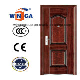 Porte en acier extérieure de fer de vente en métal chaud de titre externe