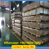 1100 3003 5052 5083 5086 5182 6061 6082 prezzo di alluminio del piatto dello strato delle 7075 leghe per chilogrammo