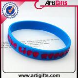 Ha annunciato il braccialetto del silicone di modo con il doppio marchio