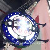 Caja ligera iluminada del rectángulo de la muestra del vacío LED