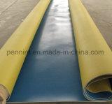 PVC coloré de vert au fond/membrane de imperméabilisation feuille de toit pour l'Asie/Europe