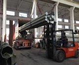 Acero galvanizado poste de la energía eléctrica de la INMERSIÓN caliente
