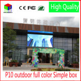 LED Video Wall 960 * 960 millimetri impermeabile gabinetto RGB DIP P10 di colore completo Schermo LED impermeabile grande schermo all'aperto