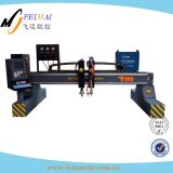 Machine de découpage de plasma de commande numérique par ordinateur d'approvisionnement d'atelier de Jinan