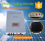 Tipo triplo inversores solares da saída da bomba com o opcional entrado grade da C.A.