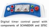 Misturador de massa de pão automático da espiral da bacia de Removabel das velocidades dobro com componente de Schneider e de controlador do tempo de Sitec