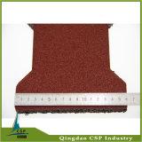 25mm Stärken-rote Hundeknochen-Gummi-Straßenbetoniermaschine