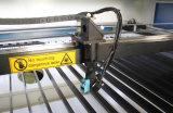 Machine de gravure de laser de CO2 Akj1610 pour des vêtements de découpage