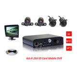 O Local o mais barato Record+GPS+CDMA2000 (3G) +WiFi Mobile DVR/Car DVR Recorder
