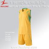 Disegno su ordinazione del pullover delle uniformi di pallacanestro degli abiti sportivi del Mens