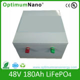 De Batterij LiFePO4 van de Muur 48V 200ah van de macht voor ZonneOpslag