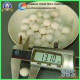 99.5% Sfere di ceramica calcinate di grande purezza dell'allumina con resistenza a temperatura elevata