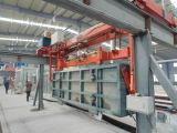 Облегченная машина делать кирпича AAC/газировала автоклавированную машину бетонной плиты